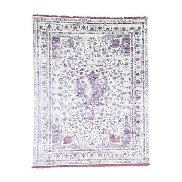 Shop Shahbanu Rugs Wool And Viscose From Bamboo Silk