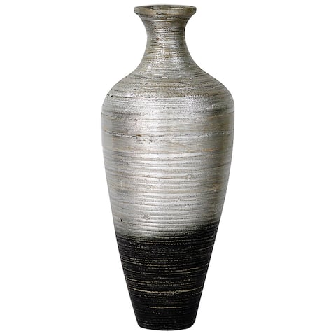 "23.62"" Bamboo ""Classic"" Jar Vase with Small Opening"
