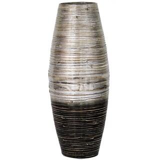"""23.62"""" Bamboo Large Opening Rounded Vase"""
