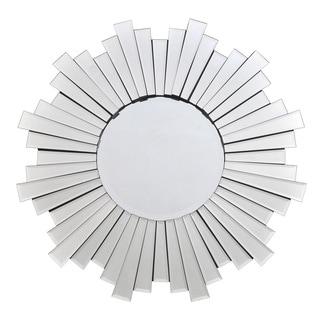 Starlight Glass 31.5-inch Sunburst Mirror
