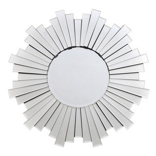 Starlight Glass 31.5-inch Sunburst Mirror