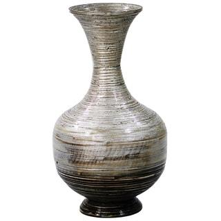"""21.65 Bamboo """"JENIE"""" Bottle Vase"""