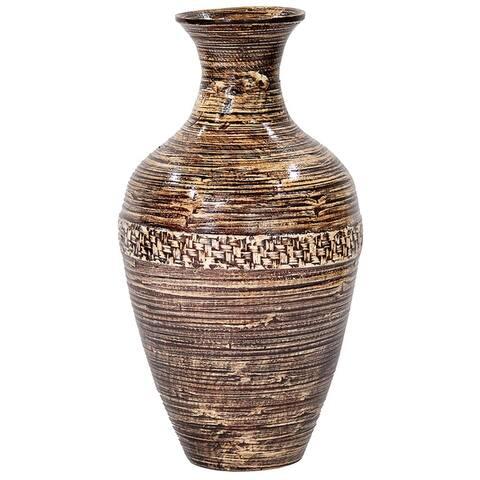 """19.69"""" Bamboo Classic Large Jug Vase"""