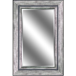 Odessa Silver Beveled Wall Mirror