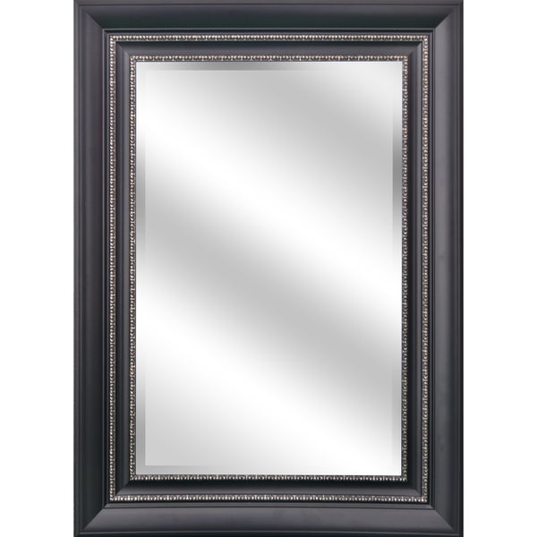 Shop Y-Decor REFLECTION 24 x 36 x 1-inch Mirror with Black and ...
