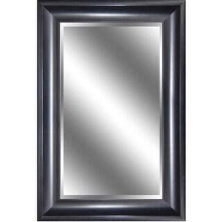 Peyton Black Framed Wall Mirror (24 x 36)