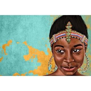 Maxwell Dickson 'Princess Muahbohn' Canvas Modern Wall Art
