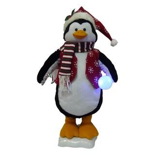 """Puleo Tree Company 24"""" Animated Penguin"""