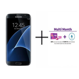 Samsung Galaxy S7 Edge G935F 32GB Unlocked GSM 4G LTE Octa-Core Phone + $29 Ultra Mobile SIM 6 Month Plan