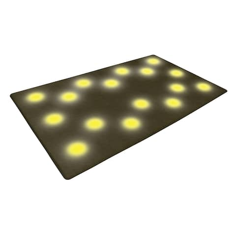 iBasics Microfiber 16-LED Step-activated Lighted Floor Mat