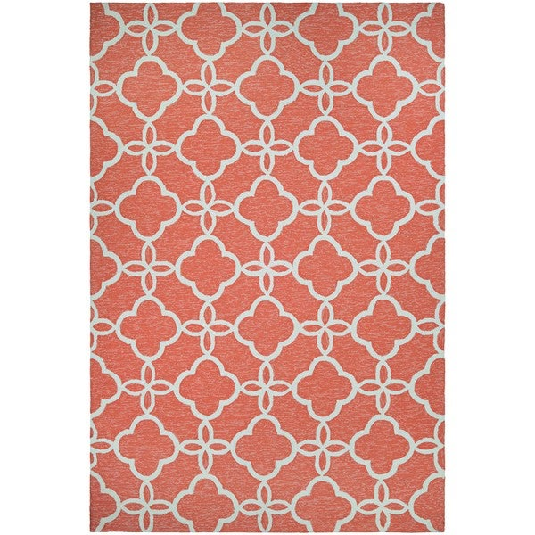Couristan Covington Meadowlark/Punch-ivory Outdoor Area Rug - 8' x 11'