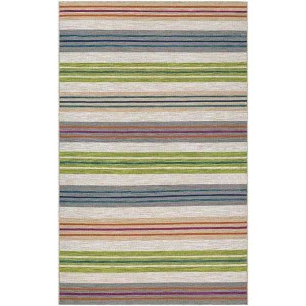 Couristan Cottages Tybee Multicolor Indoor/Outdoor Area Rug - 8' x10'