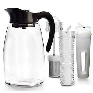 Black 'Flavor It' Pitcher