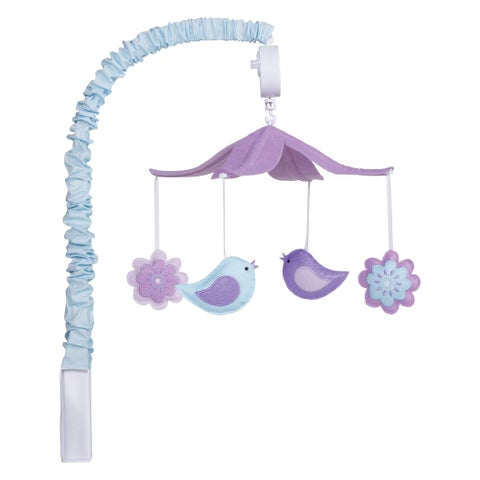 Trend Lab Grace Purple Musical Mobile