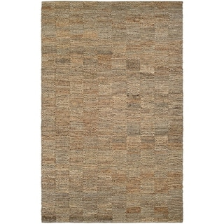 Couristan Ambary Harvester Natural Jute and Cotton Area Rug (5'3 x 7'6)