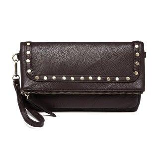 Vicenzo Leather Francesca Leather Crossbody Handbag