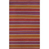 Couristan Cottages Coral Cay/Fruit Punch Indoor/Outdoor Rug - 3' x 5'