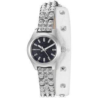 Diesel Women's DZ5447 'Kray Kray' Leather Watch