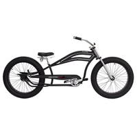 Micargi Seattle Black 26-inch Stretch Cruiser Bike