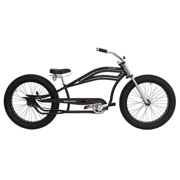 Micargi Seattle Black 26-inch Stretch Cruiser Bike
