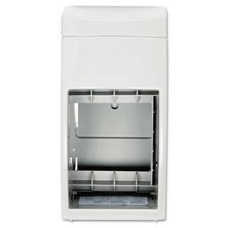 Bobrick Matrix Series Two-Roll Tissue Dispenser 6 1/4-inch wide x 6 7/8-inch deep x 13 1/2-inch high Grey