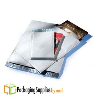 "Poly Size #00 5"" x 10"" Self-Seal Bubble Mailer Envelopes (Case of 25)"