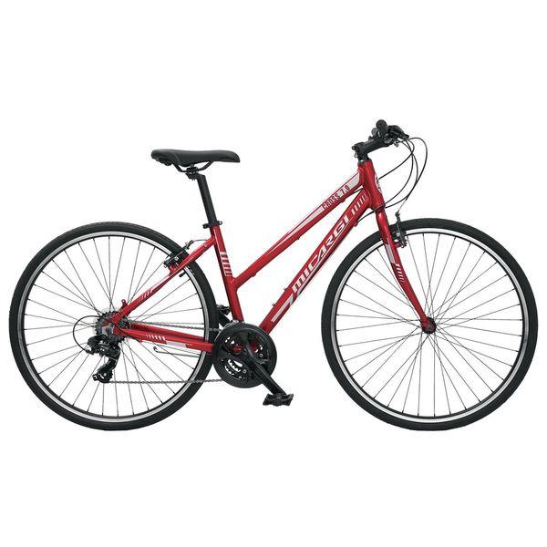 Micargi Cross 7.0 Red Hybrid Bicycle