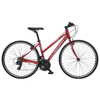 Micargi Cross 7.0 Red Hybrid Bicycle