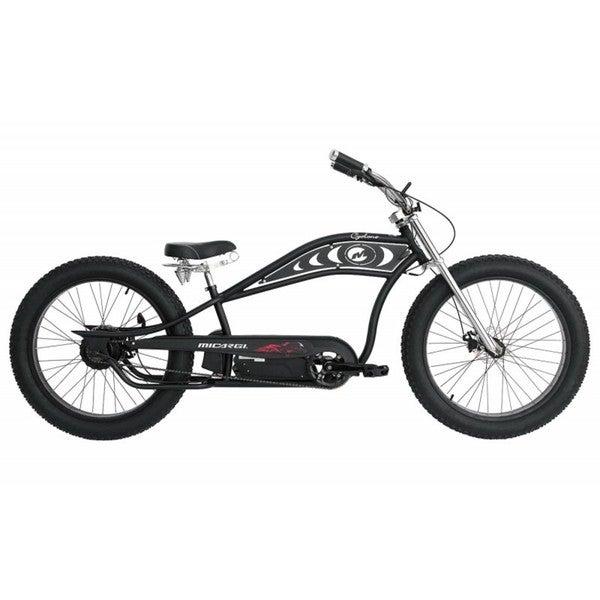 Micargi Cyclone Black 26-inch E-bike