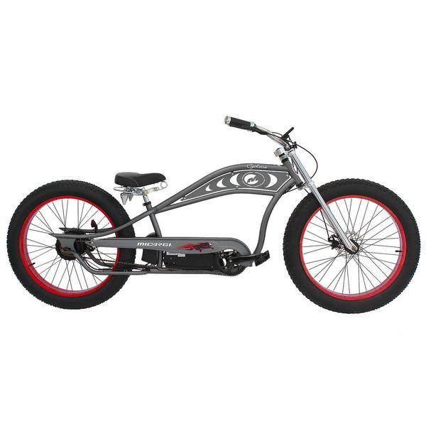 MIcargi Cyclone Matte Grey 26-inch E-bike