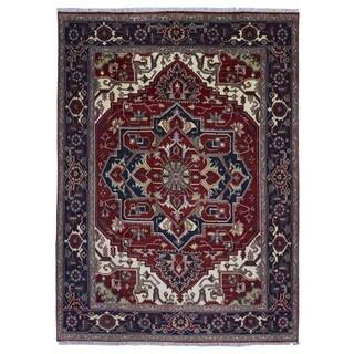 Fine Rug Collection Handmade Serapi Red Wool Oriental Rug (8'10 x 12')
