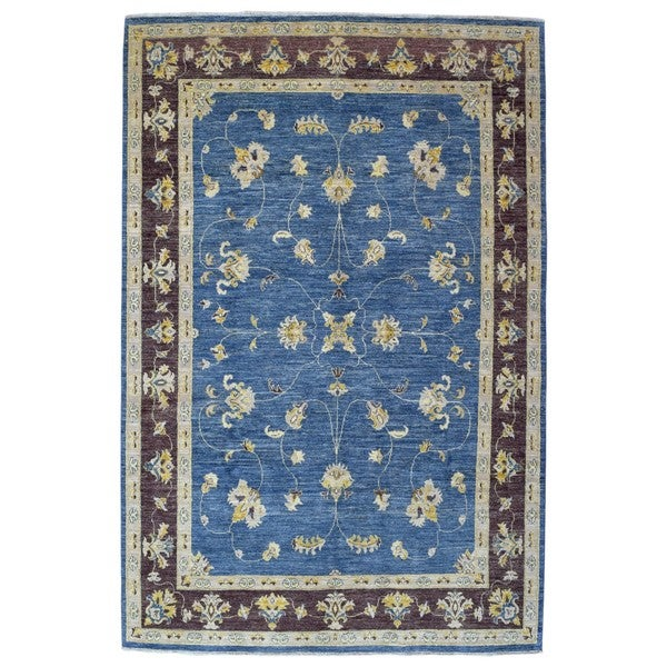 Shop FineRugCollection Hand-knotted Pakistan Peshawar Blue