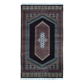 FineRugCollection Hand-knotted Bijar Red Wool Oriental Rug (2'10 x 5')