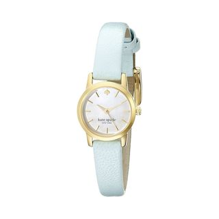 Kate Spade Women's 1YRU0831 'Tiny Metro' Blue Leather Watch