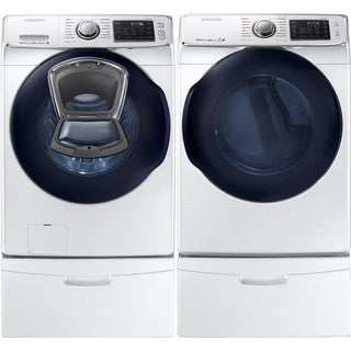 "27"" Front Load Washer and Gas Dryer"