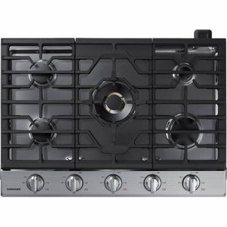 30-inch Gas Cooktop with 22K BTU Dual Power Burner