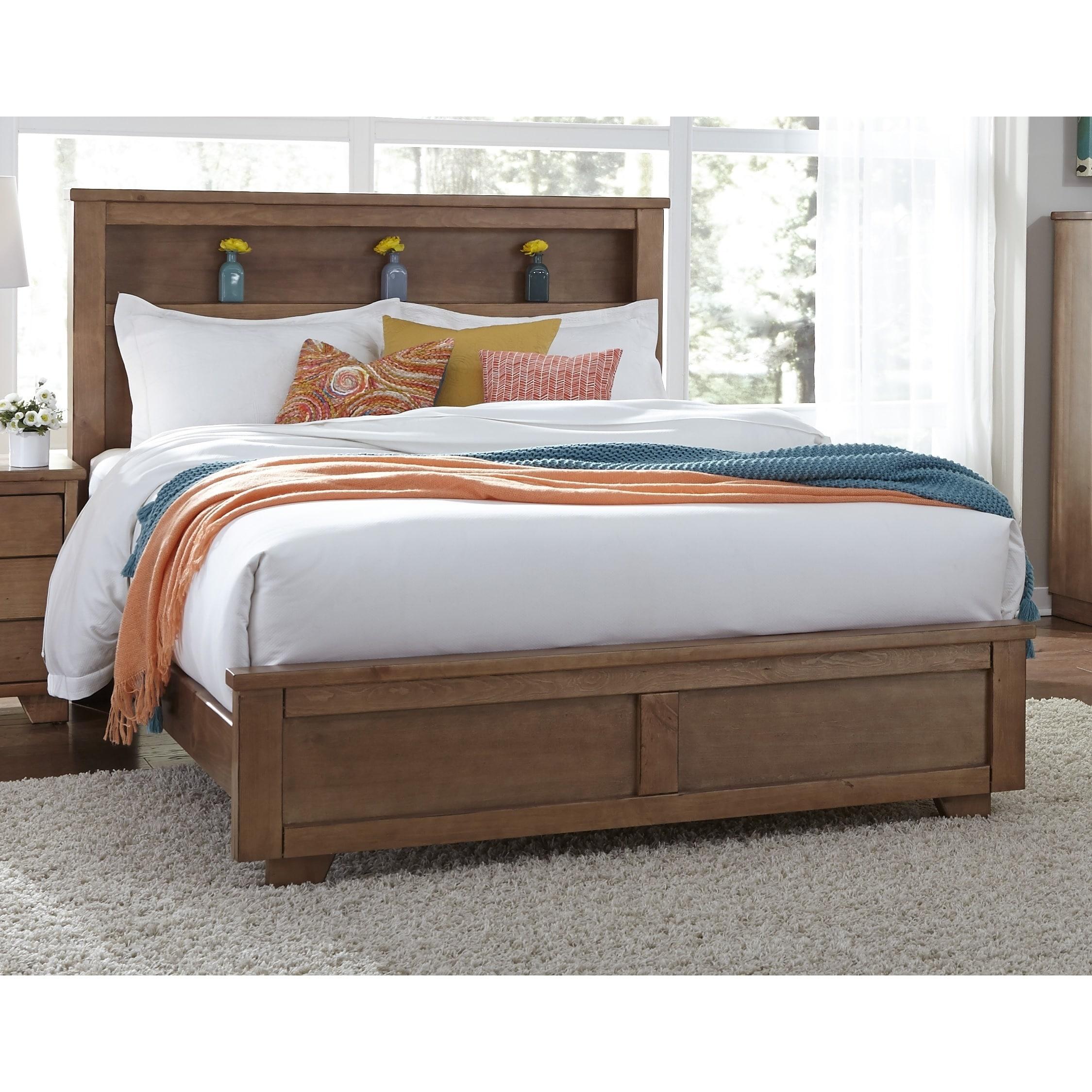 Progressive International Diego Bookcase Complete Bed (Ki...