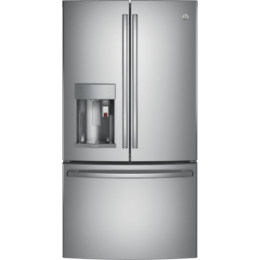 GE  Profile Series Energy Star 27.8 Cubic Feet French Door Refrirator With Keurig K-Cup Brewing System (Stainless Steel)
