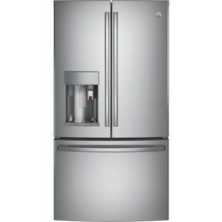 GE Profile Series Energy Star 27.8 Cubic Feet French Door Refrigerator With Keurig K-Cup Brewing System