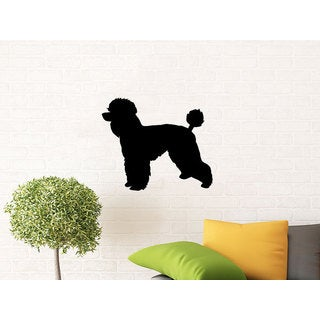 Dog Wall Decals Grooming Salon Pets Pet Shop Home Interior Sticker Decal size 48x57 Color Black