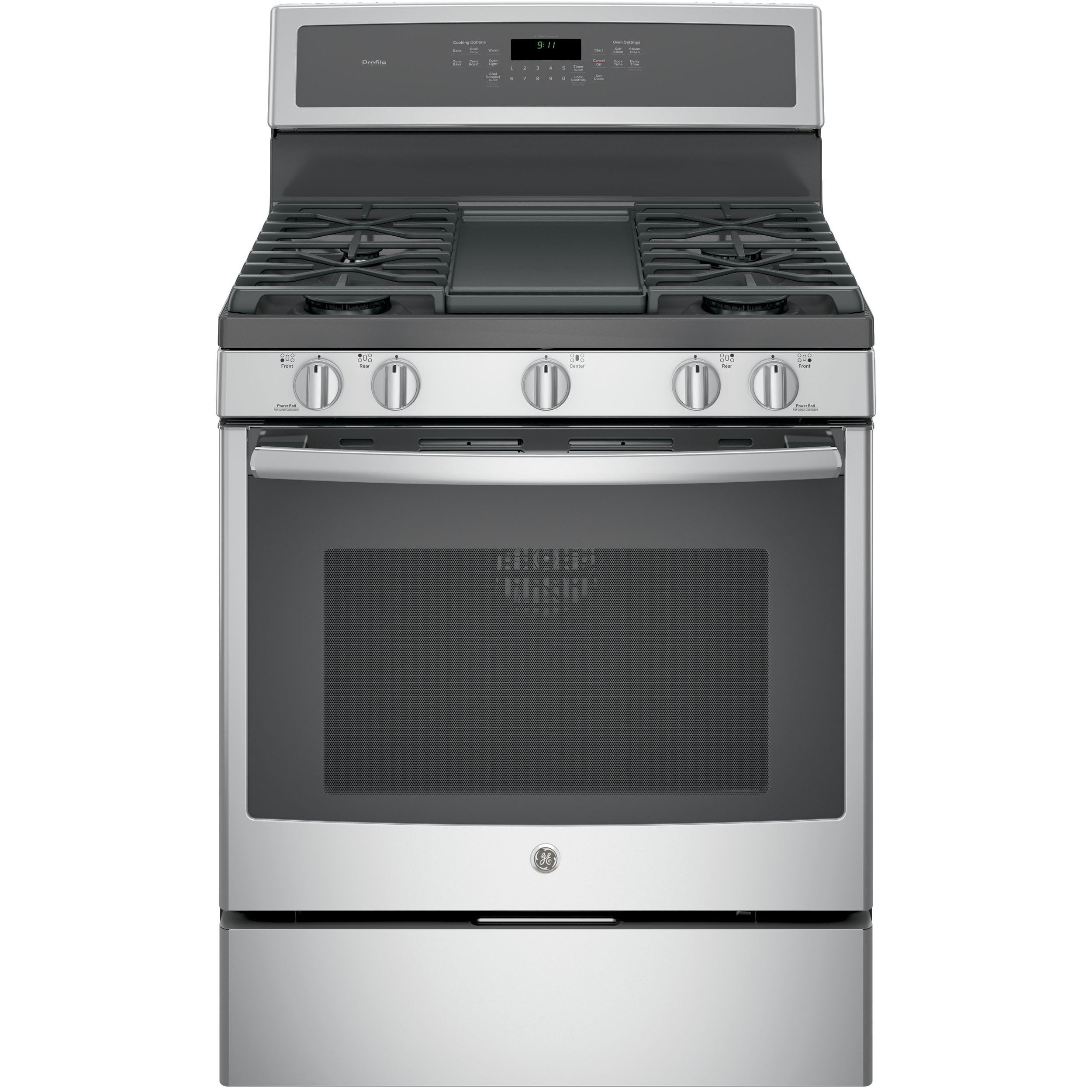 GE Profile™ Serious 30-inch Free-Standing Gas Convection ...