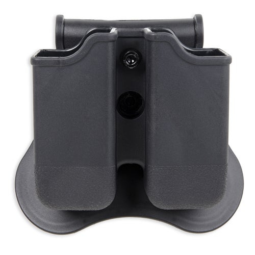 Bulldog Cases Polymer Magazine Holder Glock 17, 19, 22,23,26,27,31,32,33,34 (Gen 1, 2, 3, 4), Black