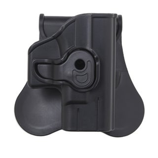 "Bulldog Cases Polymer Holster with Paddle/Belt Loop Standard 1911 Style Autos upto 5"" Barrels, Black"