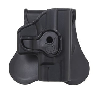 Bulldog Cases Polymer Holster with Paddle/Belt Loop Smith & Wesson M&P Compact, Black