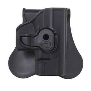 Bulldog Cases Polymer Holster with Paddle/Belt Loop Ruger LCP and Kel-Tec P-3AT, Black