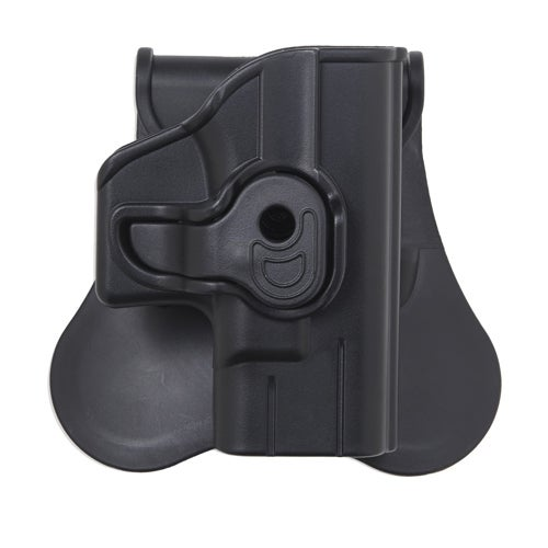 Bulldog Cases Polymer Holster with Paddle/Belt Loop Taurus 24/7 and 24/70SS, Black