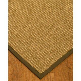 Handcrafted Lucca Natural Sisal Rug - Malt Binding,9' x 12'