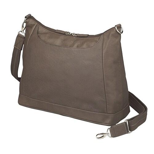 Gun Toten Mamas Concealed Carry Large Hobo Handbag Saddle Tan