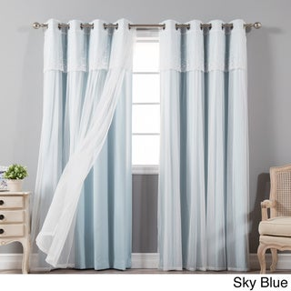 Curtains Ideas 86 inch curtain panels : Blue, 96 Inches Curtains & Drapes - Shop The Best Deals For Apr 2017