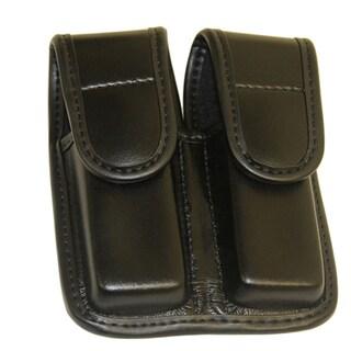 Bianchi Double Mag Pouch Plain HR Black-Size 2 Hidden